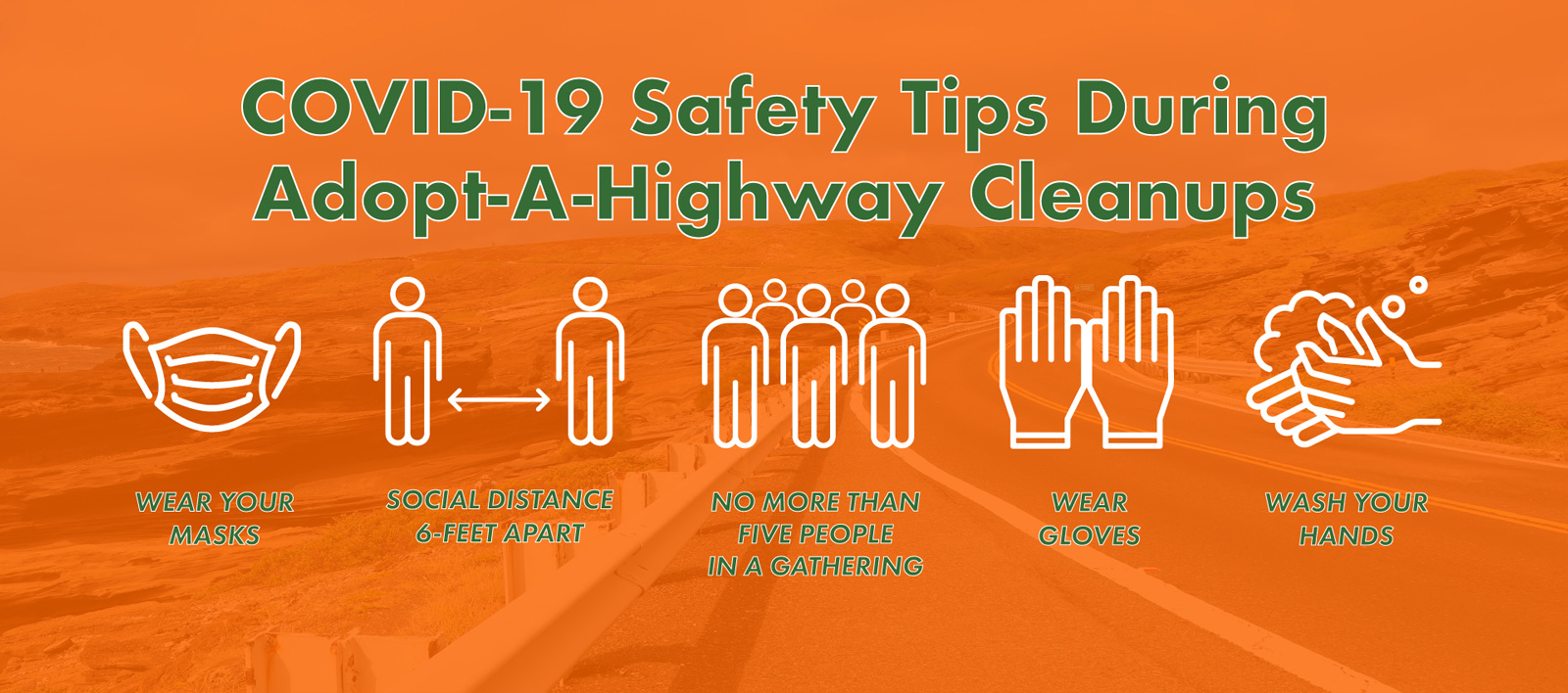 Adopt-A-Highway COVID Tips