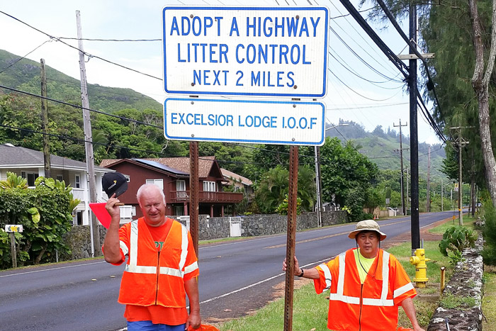 Adopt-A-Highway program details route