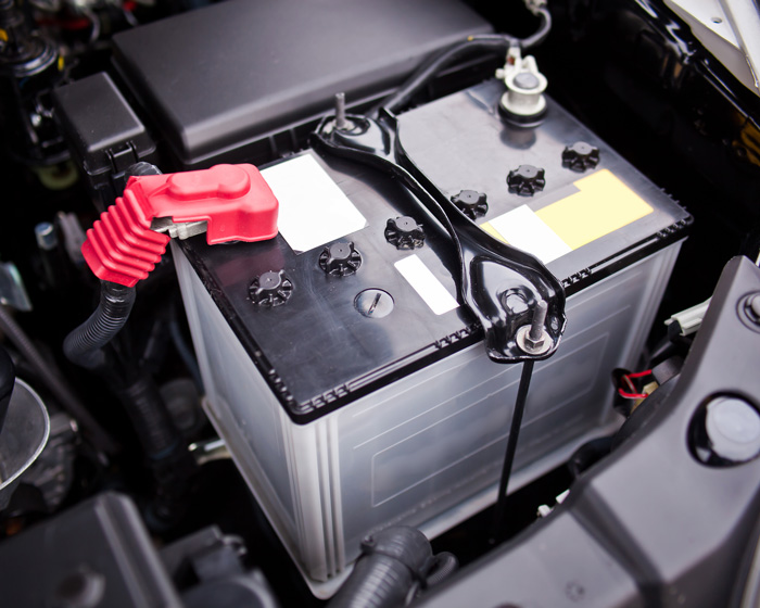 Dispose of auto batteries responsibly