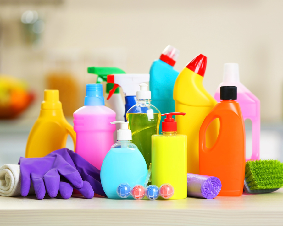 Dispose of household products safely