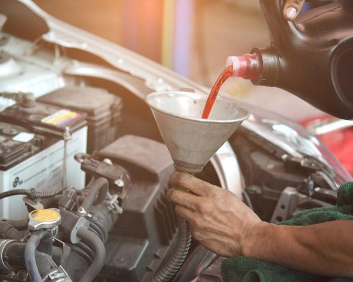 Refrain from dumping auto fluids
